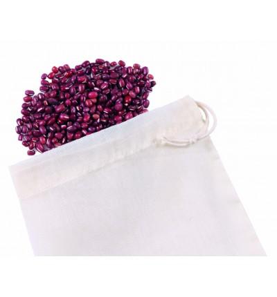 5 sacs à vrac en coton Bio taille S