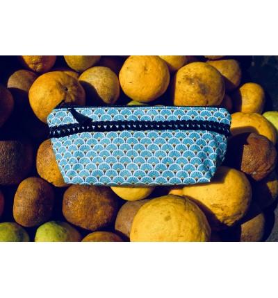Trousse Basik Eventail Bleu