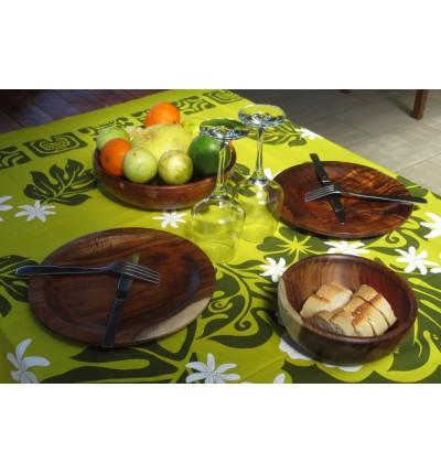 Grande assiette en Tamarin