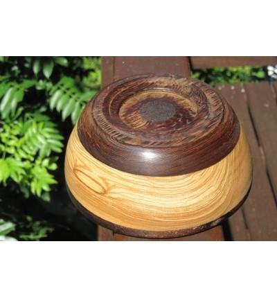 Bol deco wengui (bois précieux )/ hêtre