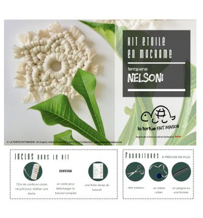 Kit Macramé - Etoile NELSONI
