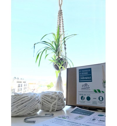 Kit Macramé - Suspension pour plante Carbonaria